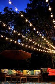 Amazoncom 25 Foot G50 Patio Globe String Lights With 2 Inch Christmas Lights In Backyard
