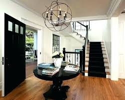 modern farmhouse foyer chandelier impressive entry contemporary