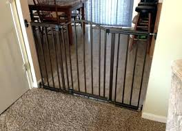 baby gate for metal railing metal baby gate summer infant extra wide ...