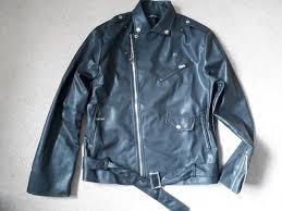 mens black leather jacket medium t birds for fancy dress