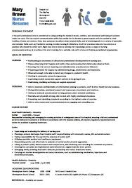 Resume Template For Nursing Amazing 28 Best Nursing Resume Templates