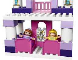 Sofia The First Bedroom Accessories Lego Duplo Sofia The First Royal Castle 10595 Figures Amazon
