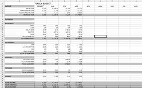 Year Budget Spreadsheet Yearly Budget Spreadsheet Coordinated Kate Payroll Yearlybudgets