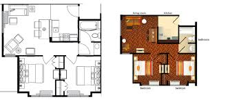 Magnificent 2 Bedroom Suite Orlando Pertaining To Bedroom
