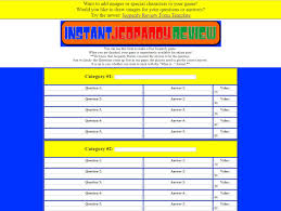 11 Best Free Jeopardy Templates For The Classroom