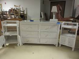 WHITE WICKER BEDROOM SET | NOVEMBER CONSIGNMENTS | K-BID