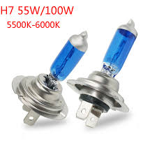 Low Beam Light Bulb Us 1 88 13 Off 2pcs H7 Xenon Halogen Low Beam Light Bulbs Auto Headlight Bulb 5500 6000k 12v 55w Parking Car Styling For Chevrolet Ford In Car Light