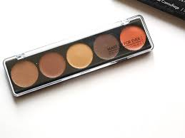 make up for ever 5 camouflage cream palette no 4 review swatch fotd