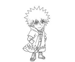 Naruto Chibi Coloring Pages Coloring Page