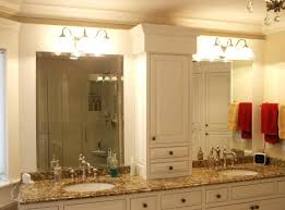double bathroom vanity mirror ideas with bell sconces large mirrors