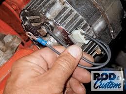 internal regulator alternator wiring internal help wiring an alt in a 50 s era car hot rod forum on internal