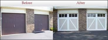 garage door clopayGarage Doors Before and AfterGarage Door Installation  Aladdin Doors