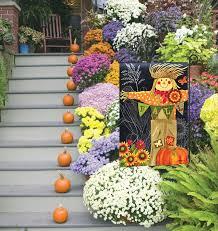 garden flags. Scarecrow Garden Flags