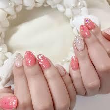 ネイル ピンク キラキラ