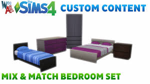 Matching Bedroom Furniture Mod The Sims Mix And Match Bedroom Furniture