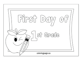 Coloring Pages For 1st Graders Earth Day Worksheets Christmas ...