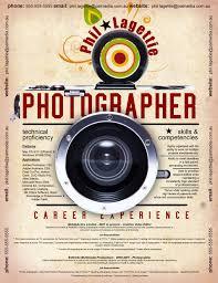 Photographer Resume Sample Sample Resumes