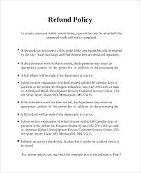 attendance policy template perfect example of employee attendance sample refund policy 8 documents in word pdf