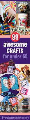 fun crafts for tweens pinterest. 99 awesome crafts you can make for less than $5 fun tweens pinterest s