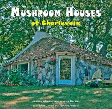 Image result for mushroom houses in charlevoix mi