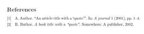 Quote Inside A Quote Bibtex Handling Quotes Inside Quotes In A Bibliographic Field