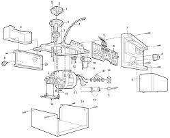 liftmaster r parts schematic garage door opener parts breakdown and schematic liftmaster motor assembly parts