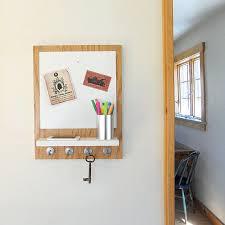 wall mount shelf whiteboard organizer