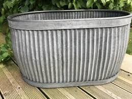 extra large oval dolly tub planter
