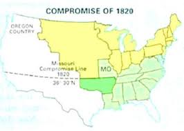 sectionalism the compromise however would not last long when california asked for admission as a state in 1850 the missouri compromise would have bisected the