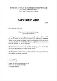 Authorised Letter Format Thelonelyd12