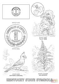 Small Picture Kentucky State Symbols coloring page Free Printable Coloring Pages