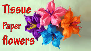 diy crafts how to make tissue paper flowers easy ana diy crafts you