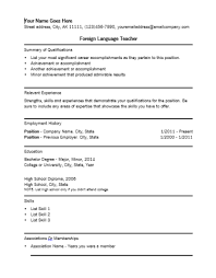 Remarkable Language On Resume 96 For Your Resume Sample with Language On  Resume