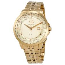 armani exchange copeland men s gold tone watch ax2267 armani armani exchange copeland men s gold tone watch ax2267