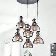 smoked glass chandelier glass chandelier crystal frosted glass chandelier shade