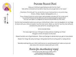Kids Reward Chart Printable Boy Girl Style Included