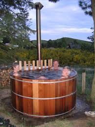 wood fired hot tub kits and heaters