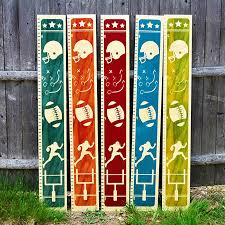 Growth Chart Art Wooden Height Chart Sports Growth Chart For