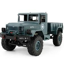 2018 Military Pickup remote control model WPLB 1 1/16 2.4G 4WD RC ...