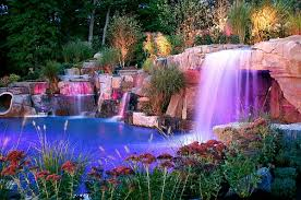 beautiful pools with waterfalls. Interesting Pools View In Gallery The Fairytale Setting Comes Alive At Dusk Inside Beautiful Pools With Waterfalls