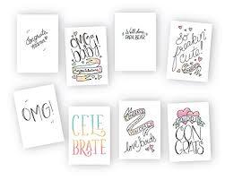 Congrats Baby Cute Modern Baby Congratulations Cards Multipack 8 Fun Designs 24 Cards