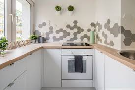 backsplash ideas with a dash of fun white hygge tile