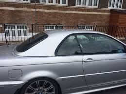 BMW 3 SERIES CONVERTIBLE E46 HARDTOP IN SILVER (JUST THE ROOF FOR ...