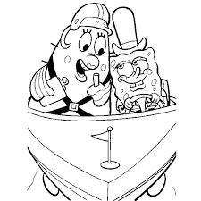 Patrick Coloring Pages Spongebob Spongebob Squidward Nickelodeon