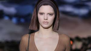 kendall jenner the second youngest in the kardashian clan walked her first show at new york fashion week last night it was marc jacobs her eyebrows