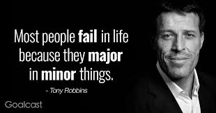 Motivational Quote Of The Day Awesome Top 48 Most Inspiring Tony Robbins Quotes Goalcast