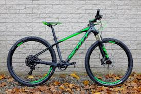 scott scale 720 carbon hardtail mountain bike black green