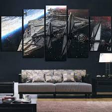 star wars canvas wall art star wars spaceship destroyer star wars canvas panel wall art star  on star wars canvas panel wall art with star wars canvas wall art online shop printed star wars painting