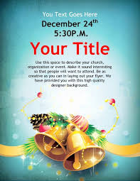 Holiday Flyers Templates Free Free Holiday Flyer Template Awesome Christmas Bells Flyer