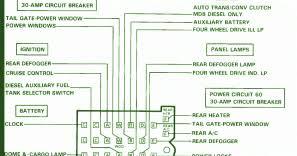 chevrolet fuse box diagram fuse box chevrolet suburban 89 diagram